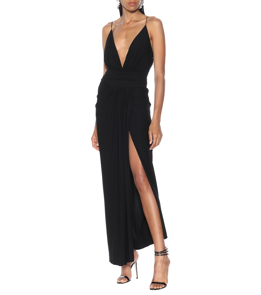 Stretch-jersey gown by Alexandre Vauthier