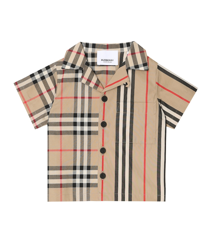 Burberry BABY VINTAGE CHECK COTTON SHIRT
