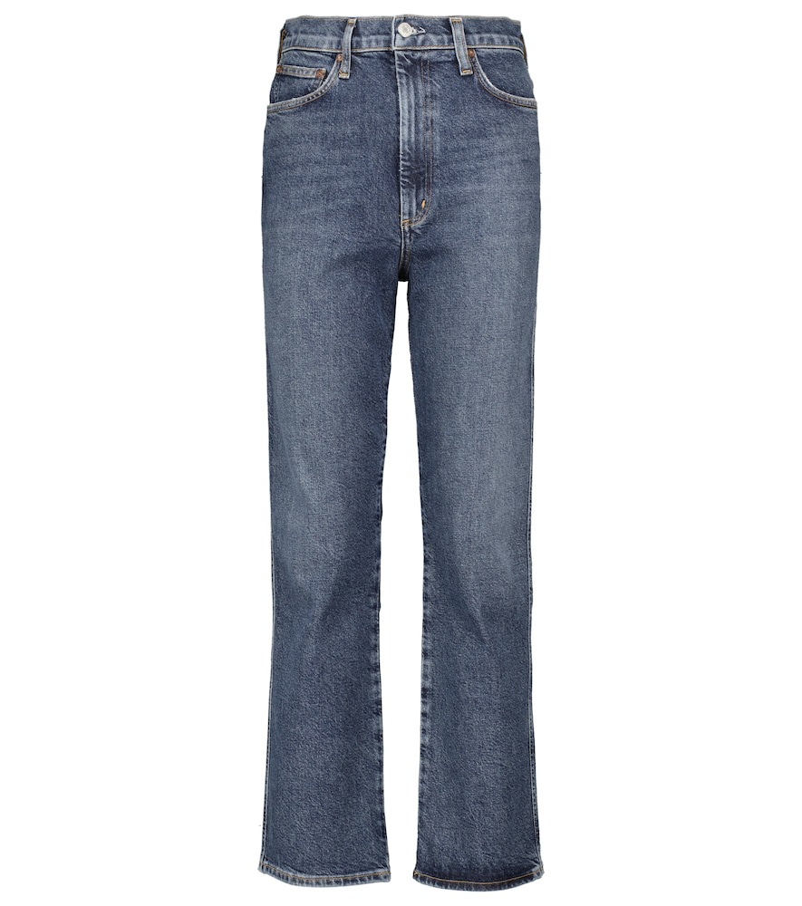 Pinch high-rise straight jeans