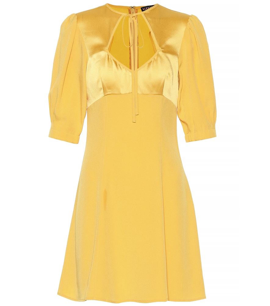 CRÊPE SATIN DRESS