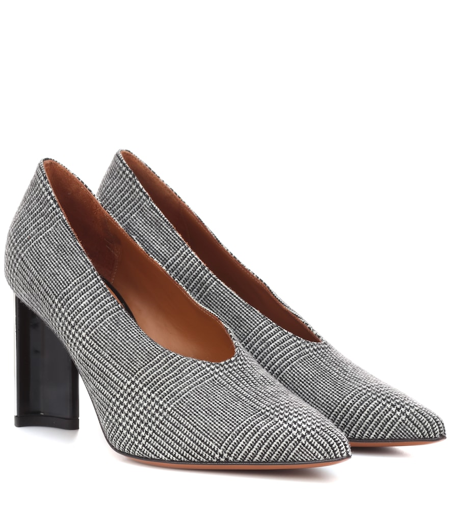 KATHLEEN GLEN PLAID PUMPS