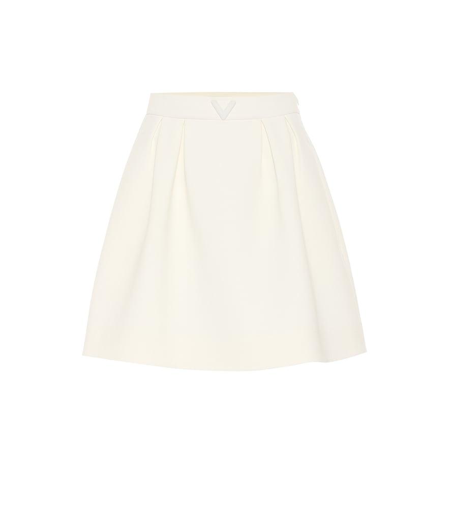 Valentino stretch-wool miniskirt