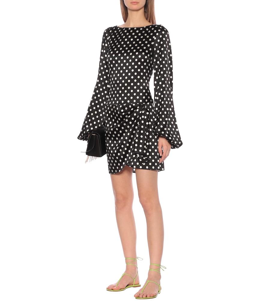 Leonie stretch-silk minidress by Caroline Constas