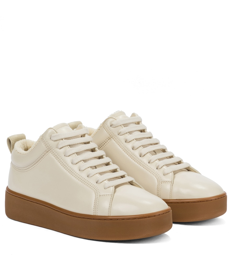 Bottega Veneta LEATHER PLATFORM SNEAKERS