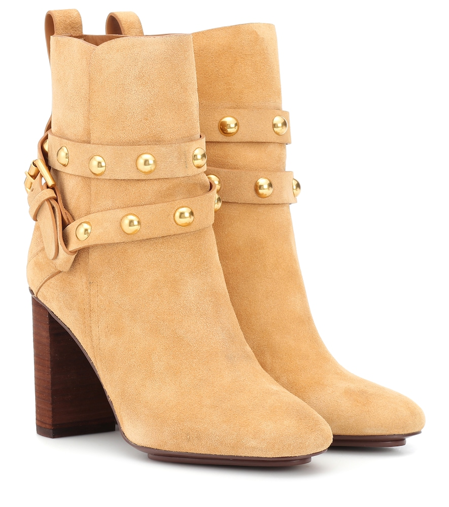 JANIS SUEDE ANKLE BOOTS