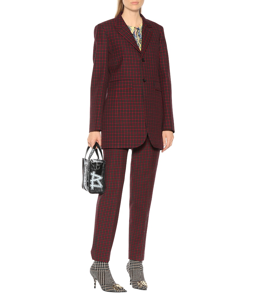 Checked wool blazer by Balenciaga