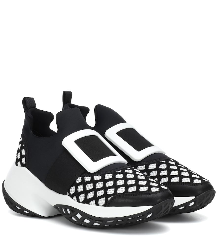 Viv' Run Sneakers in Black