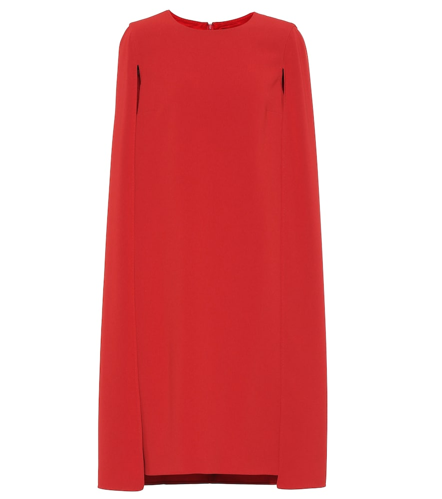 MAX MARA | Sansone Cape Dress | Goxip