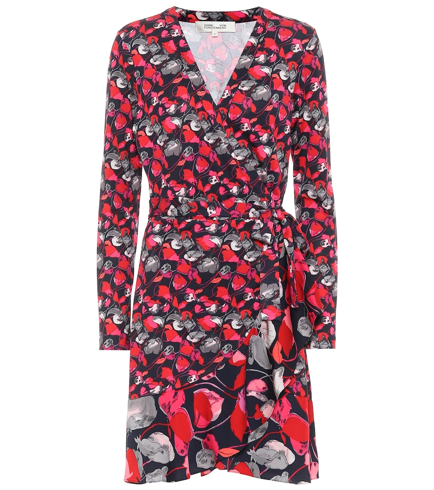 Elita silk wrap dress by Diane von Furstenberg