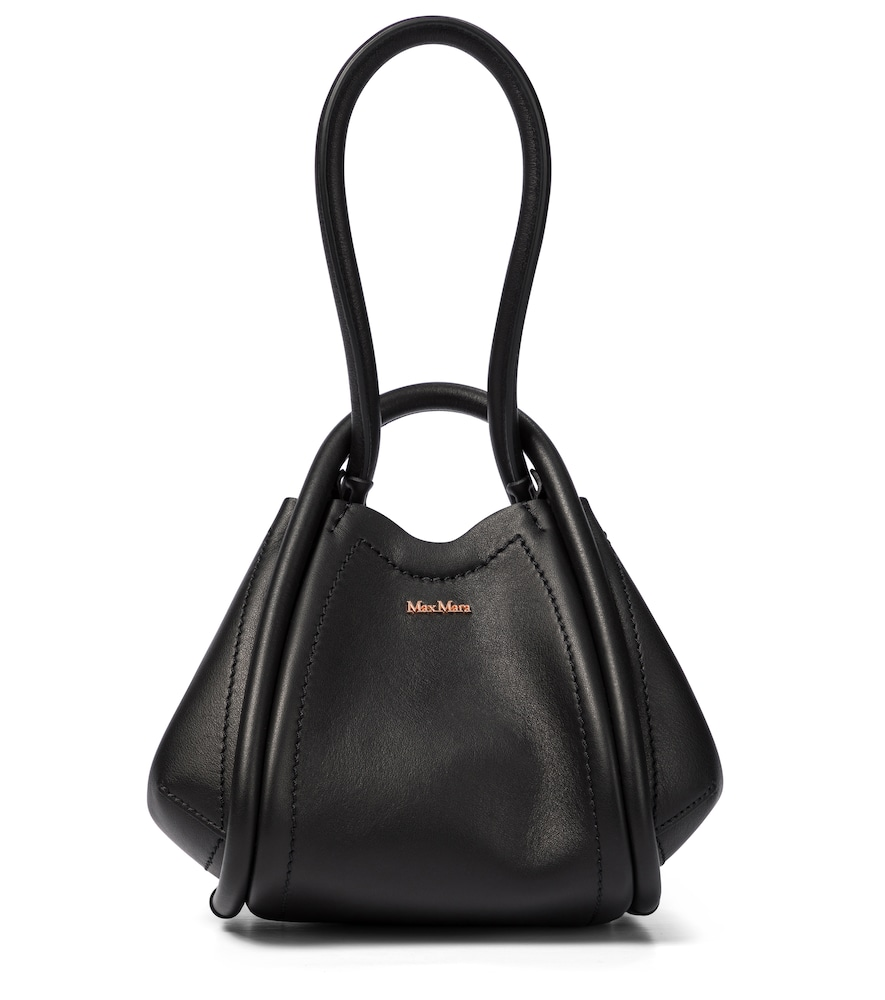 Max Mara MARIN SMALL LEATHER TOTE
