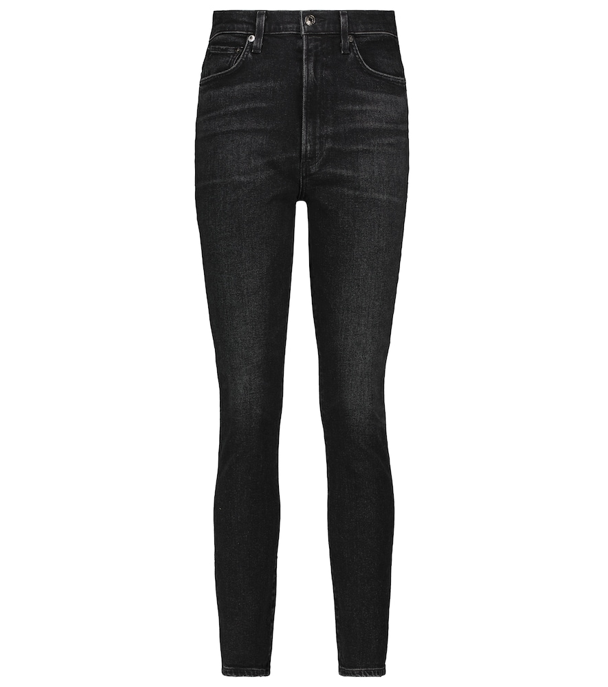 Pinch high-rise skinny jeans