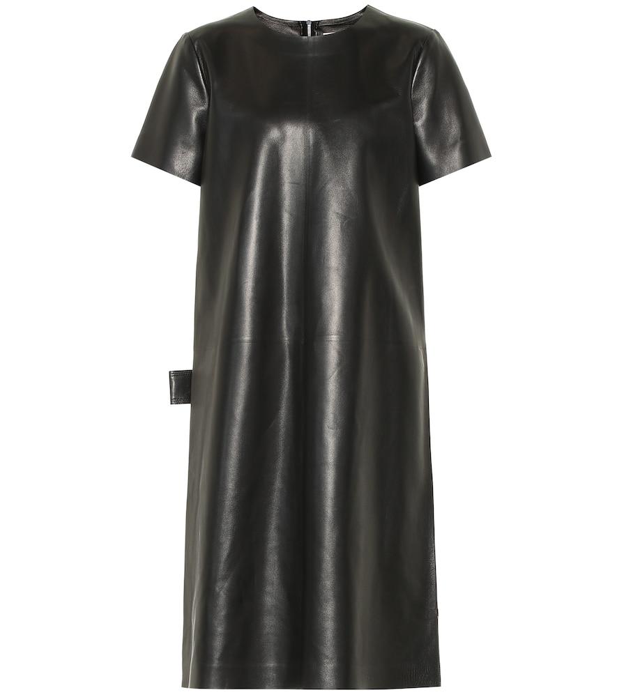 BOTTEGA VENETA | Leather Dress | Goxip