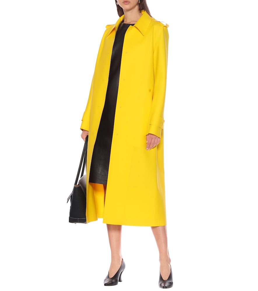 Leather dress by Bottega Veneta
