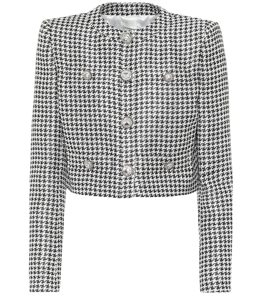 Sequined jacquard jacket by Alessandra Rich