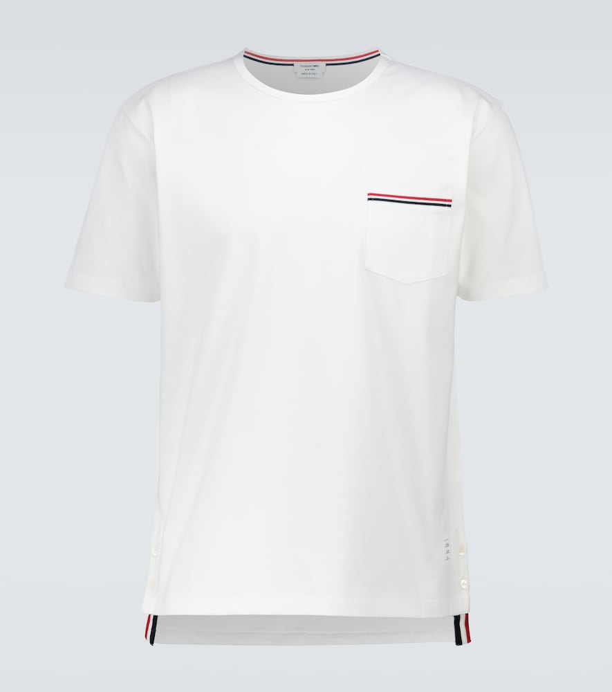 Thom Browne SHORT-SLEEVED COTTON T-SHIRT