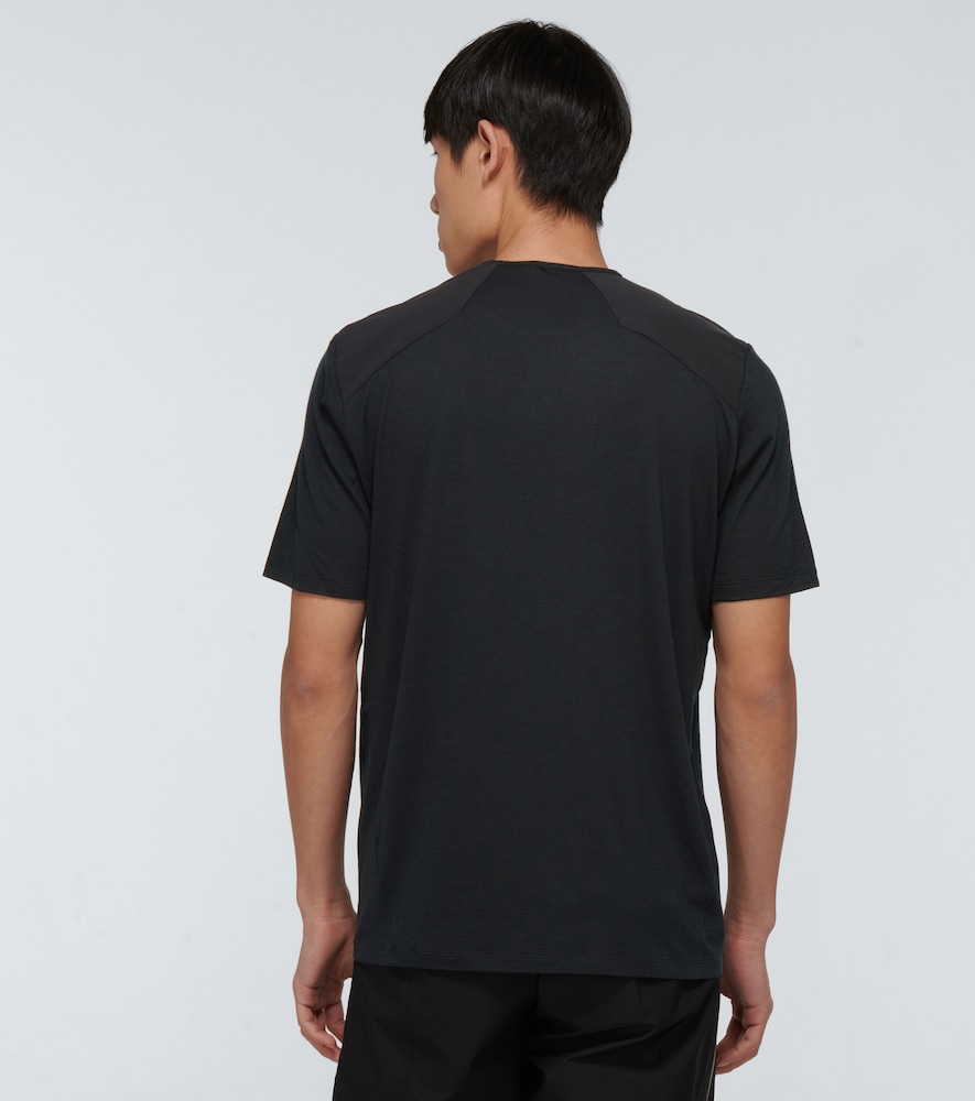 VEILANCE T-shirts FRAME POCKET SHORT-SLEEVED T-SHIRT