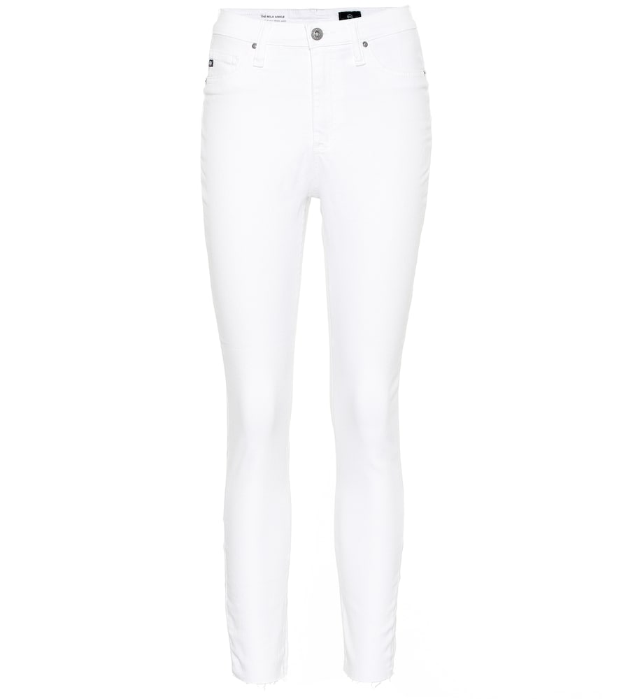 AG JEANS | The Mila High-Rise Skinny Jeans | Goxip