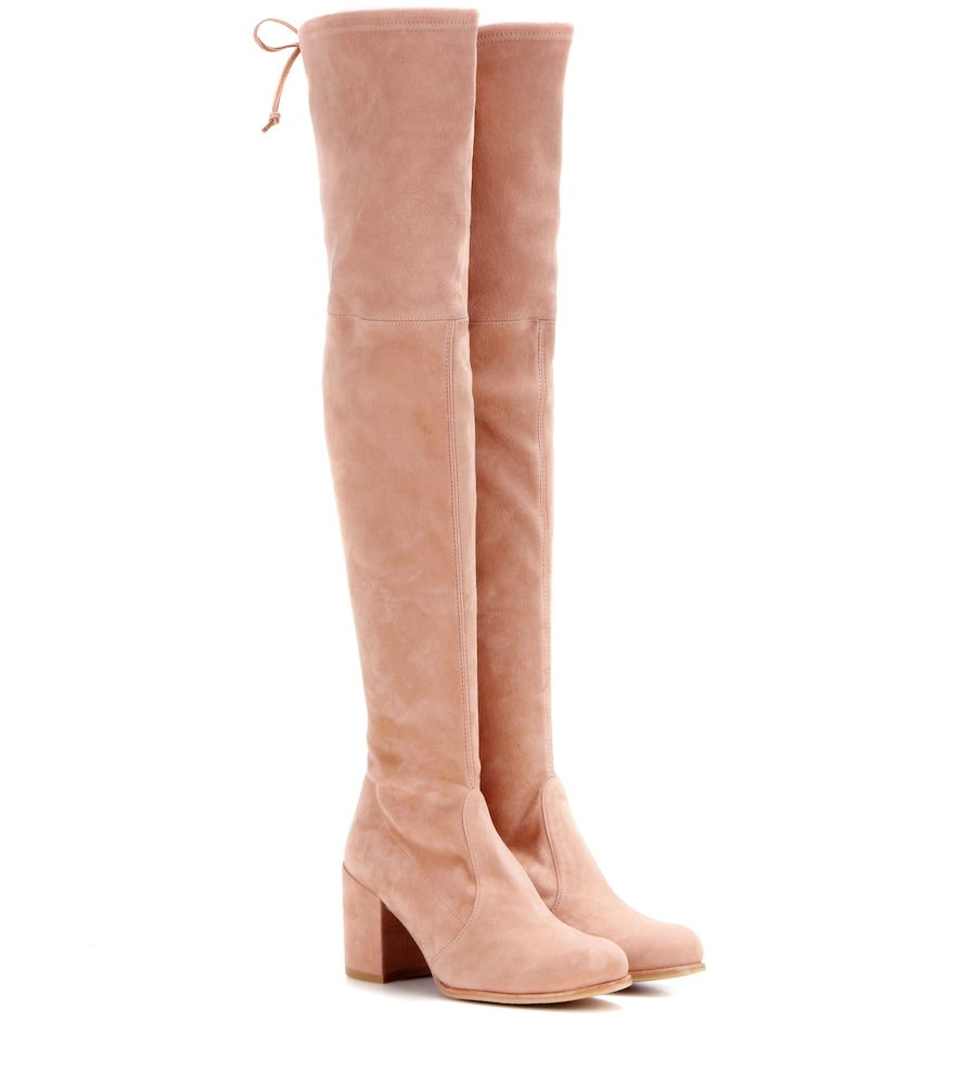 EXCLUSIVE TO MYTHERESA.COM - TIELAND SUEDE OVER-THE-KNEE BOOTS