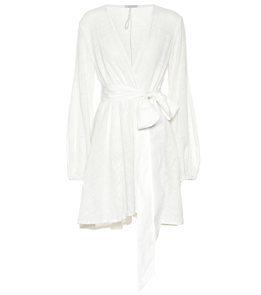 KALITA Gaia Cotton Minidress in White