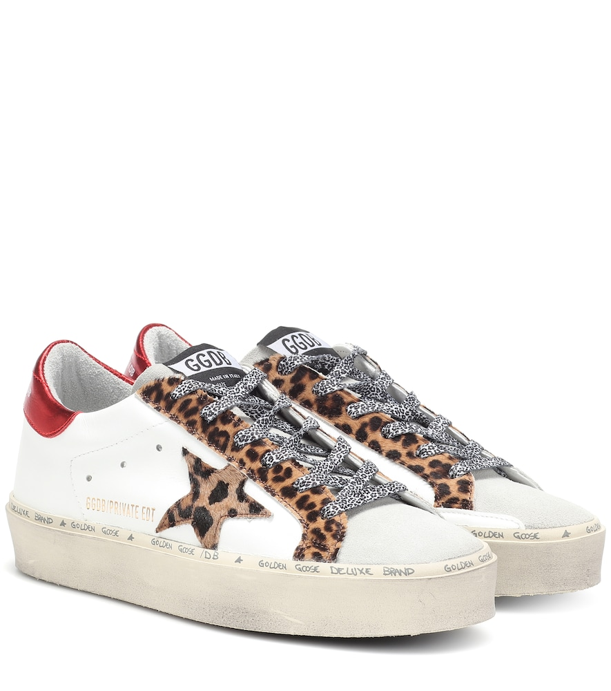 Exclusive to Mytheresa - Hi-Star leather sneakers