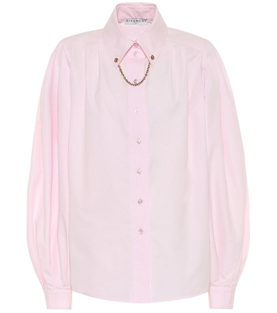 Givenchy Embellished cotton shirt