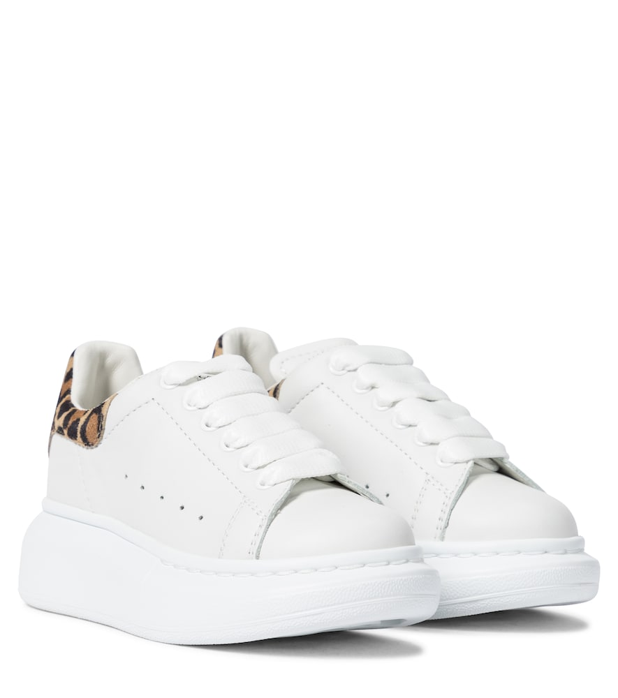 Alexander Mcqueen Leathers LEATHER SNEAKERS