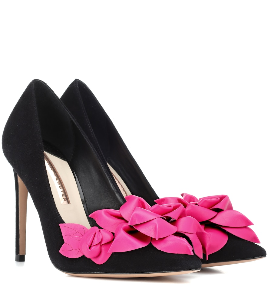 EXCLUSIVE TO MYTHERESA - JUMBO LILICO SUEDE AND LEATHER PUMPS from Mytheresa