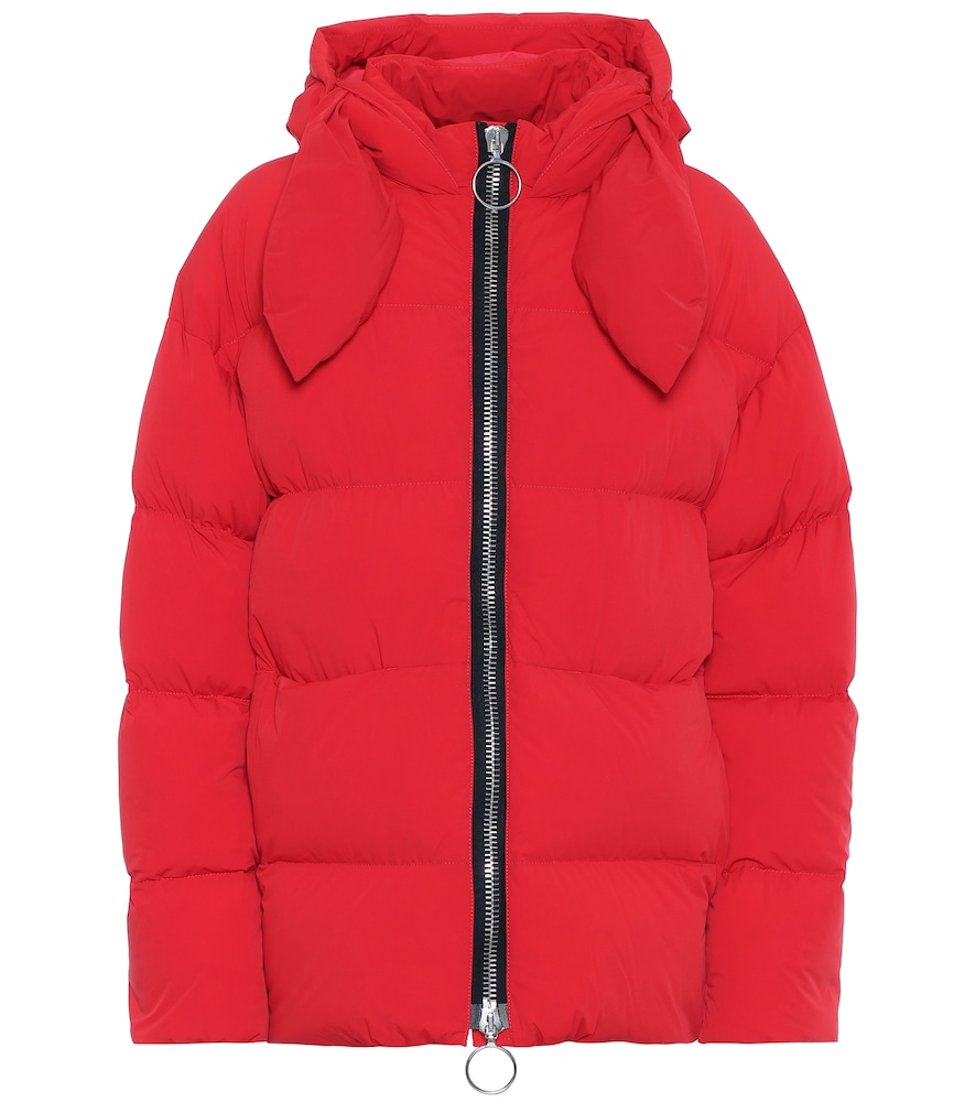 Hustka down jacket by Ienki Ienki