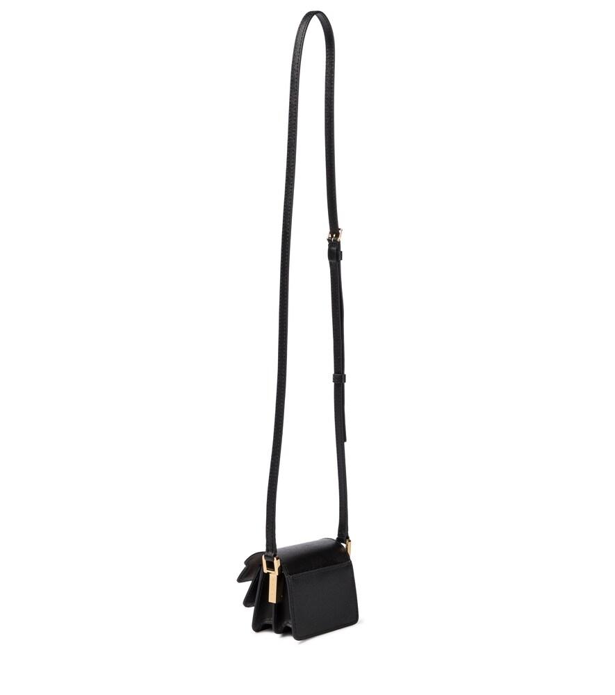 MARNI Leathers TRUNK NEW NANO LEATHER CROSSBODY BAG
