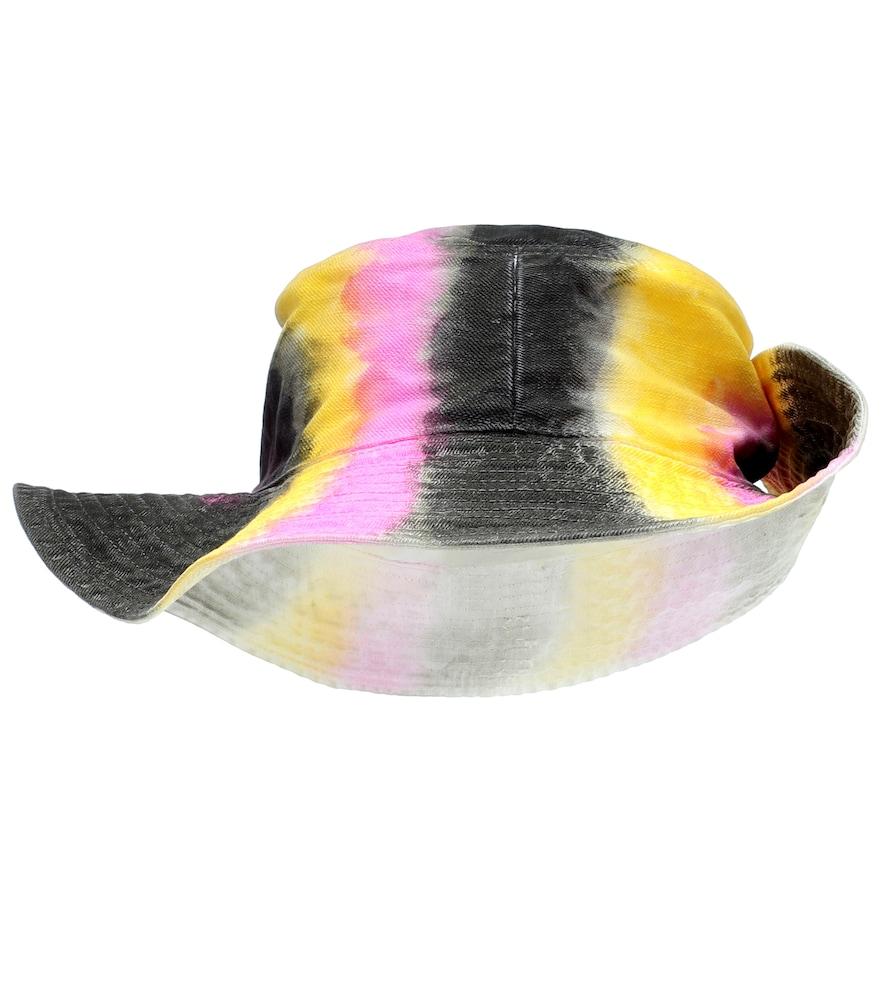 Ganni Hats Tie-dye denim hat