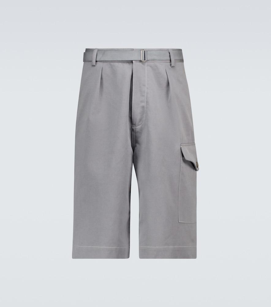 Washed Finx chino shorts