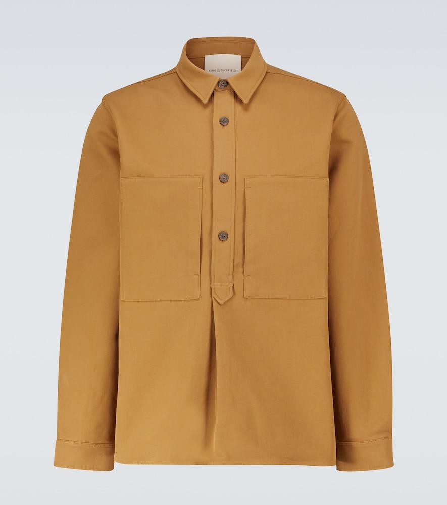 Popover cotton shirt