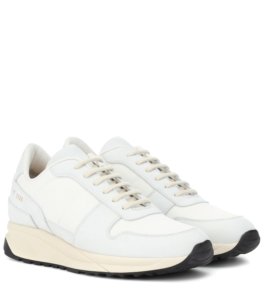 TRACK VINTAGE LEATHER SNEAKERS