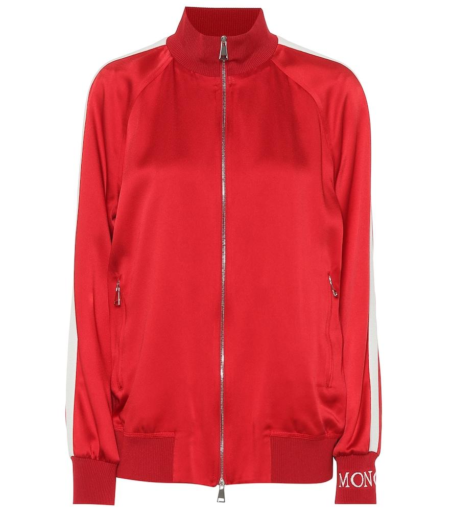 Satin track jacket