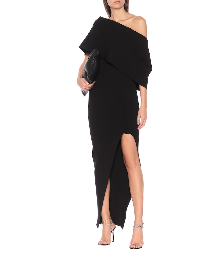 Stretch-knit gown by Rick Owens