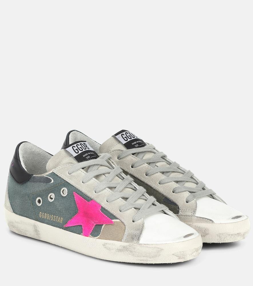Superstar canvas sneakers