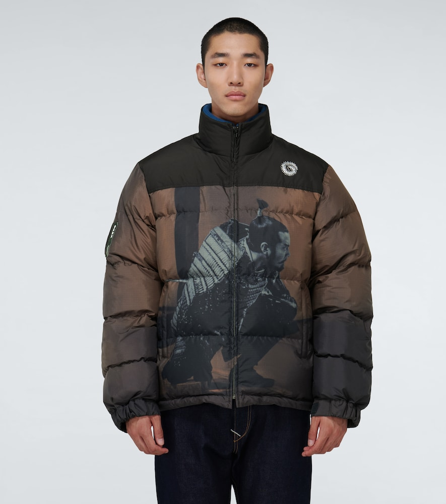 UNDERCOVER Downs SAMURAI-PRINT DOWN-FILLED JACKET
