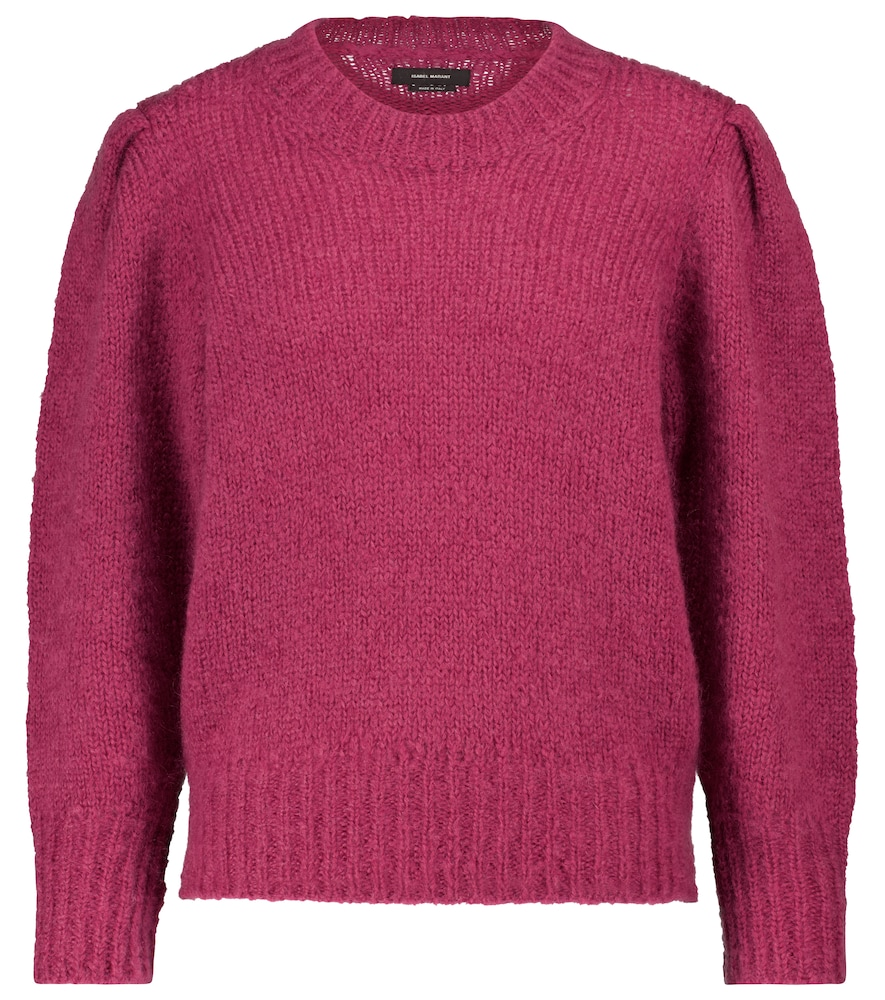 Isabel Marant EMMA MOHAIR AND WOOL-BLEND SWEATER