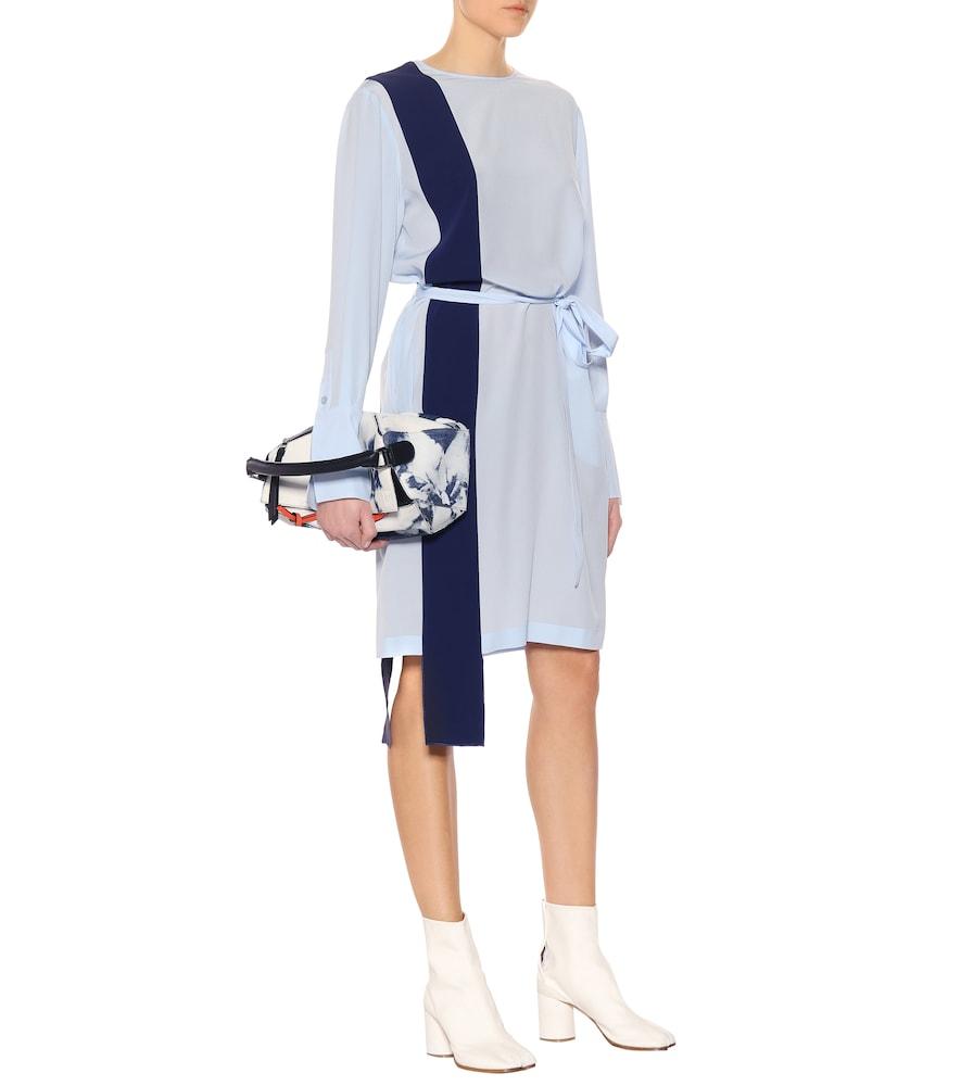 Asymmetric silk dress by Stella McCartney