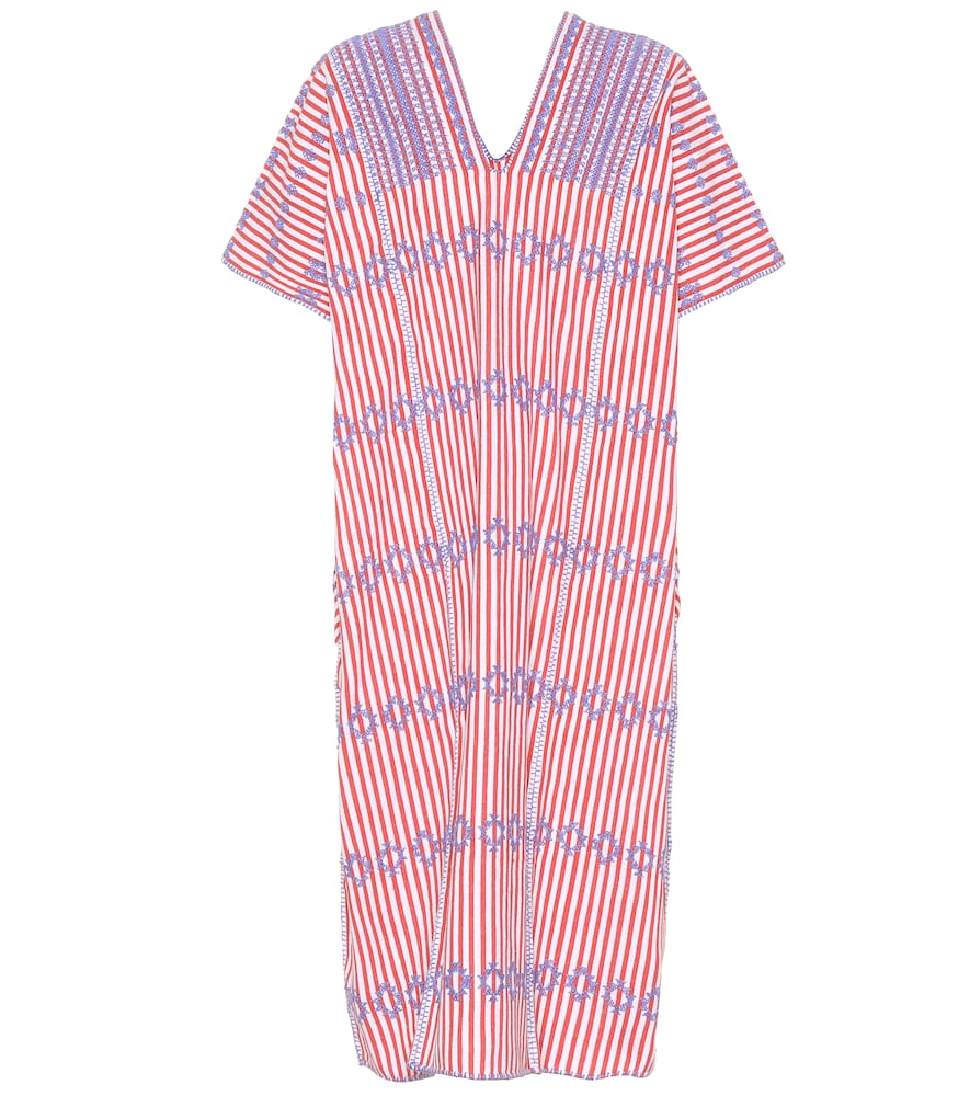 PIPPA HOLT No. 61 Embroidered Cotton Kaftan in Multicoloured