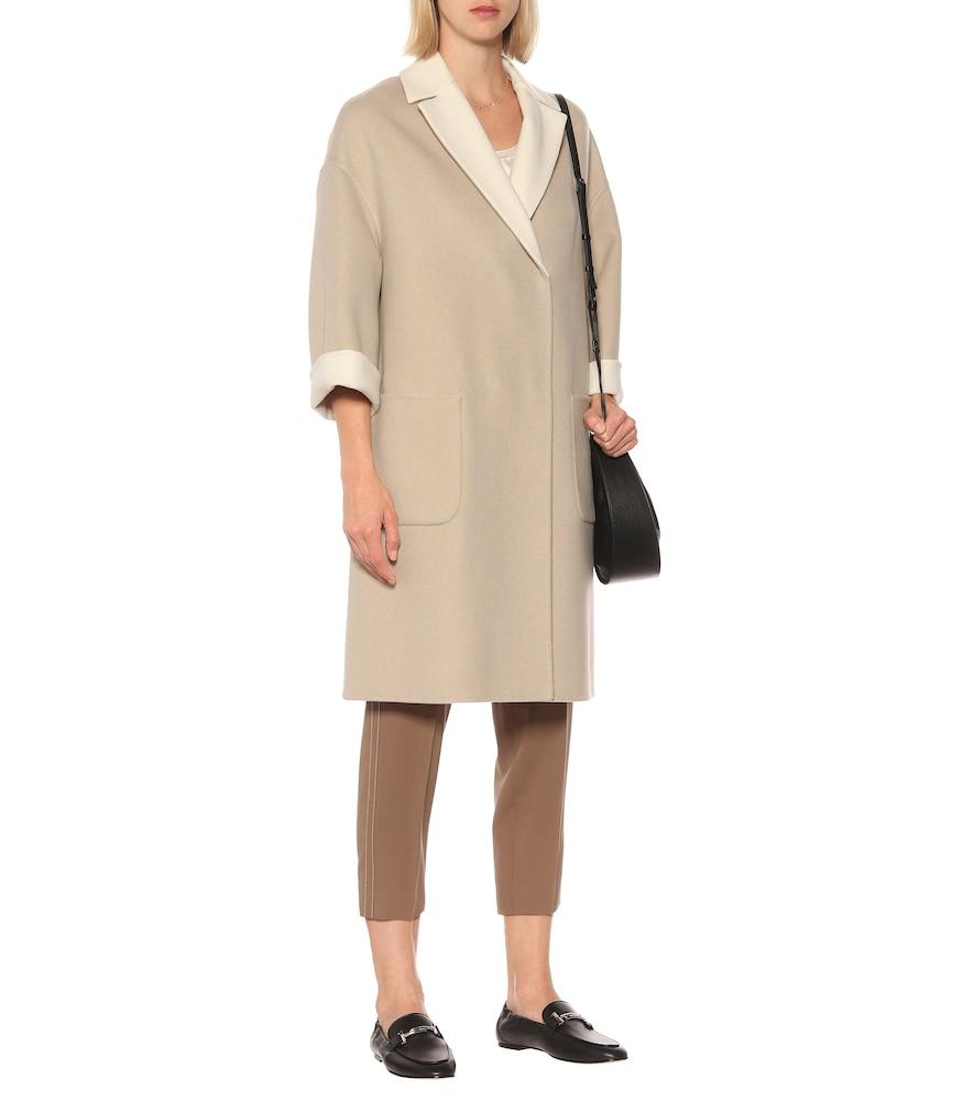Reversible cashmere coat by Brunello Cucinelli