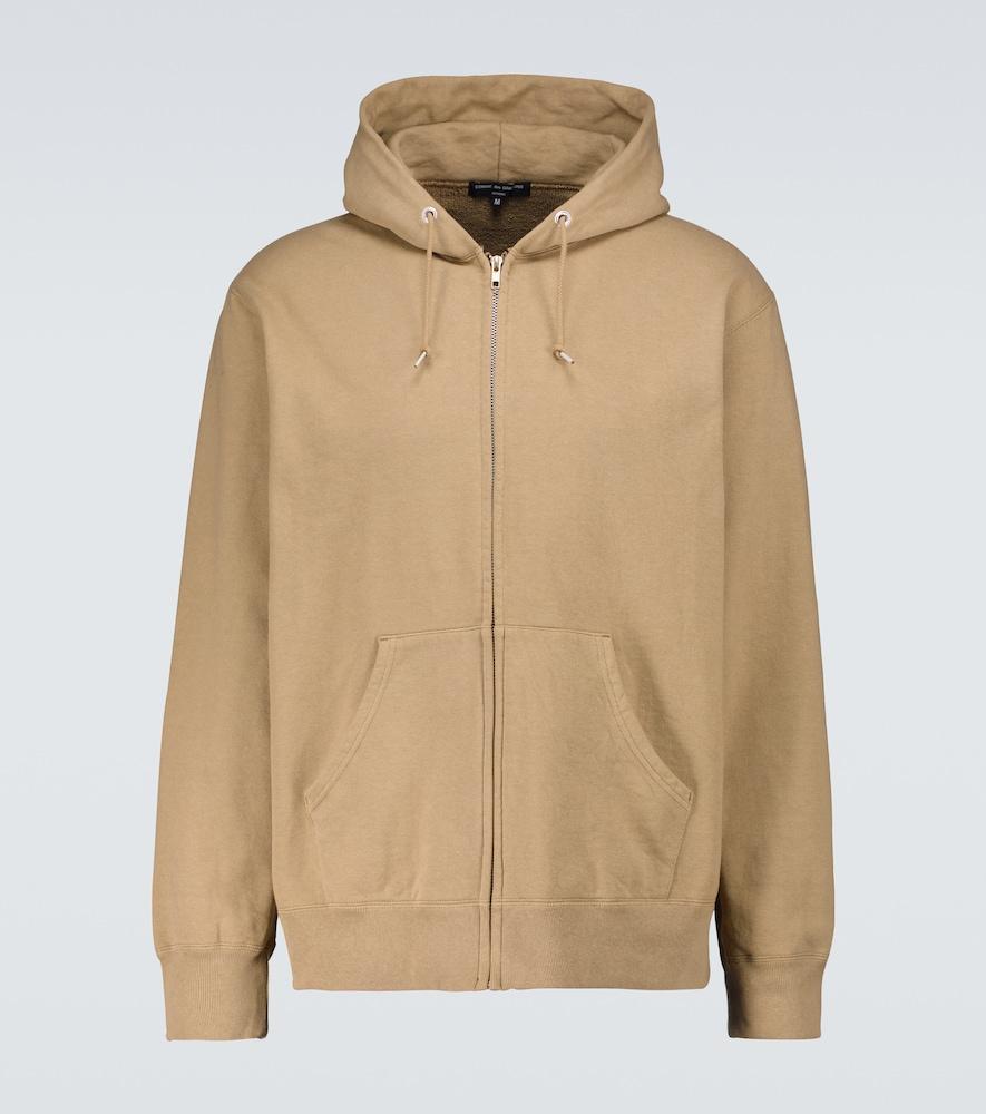 Zipped cotton sweatshirt