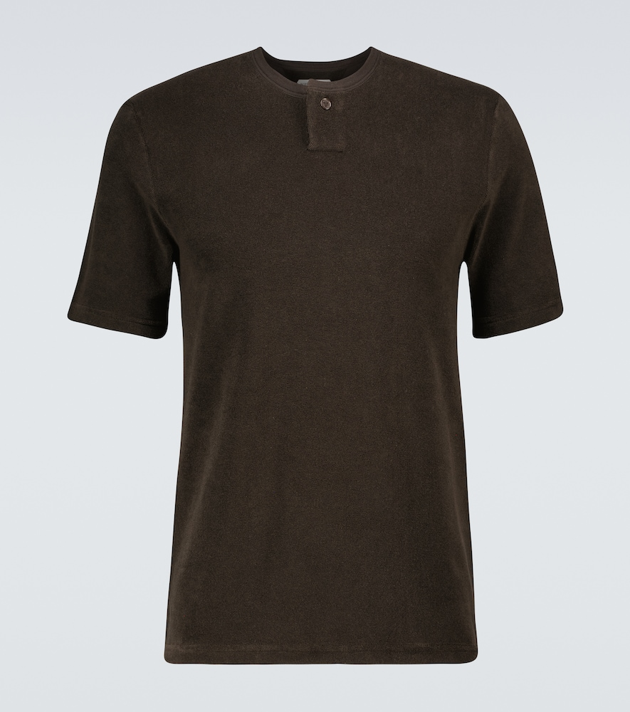 Bottega Veneta T-shirts COTTON-BLEND T-SHIRT
