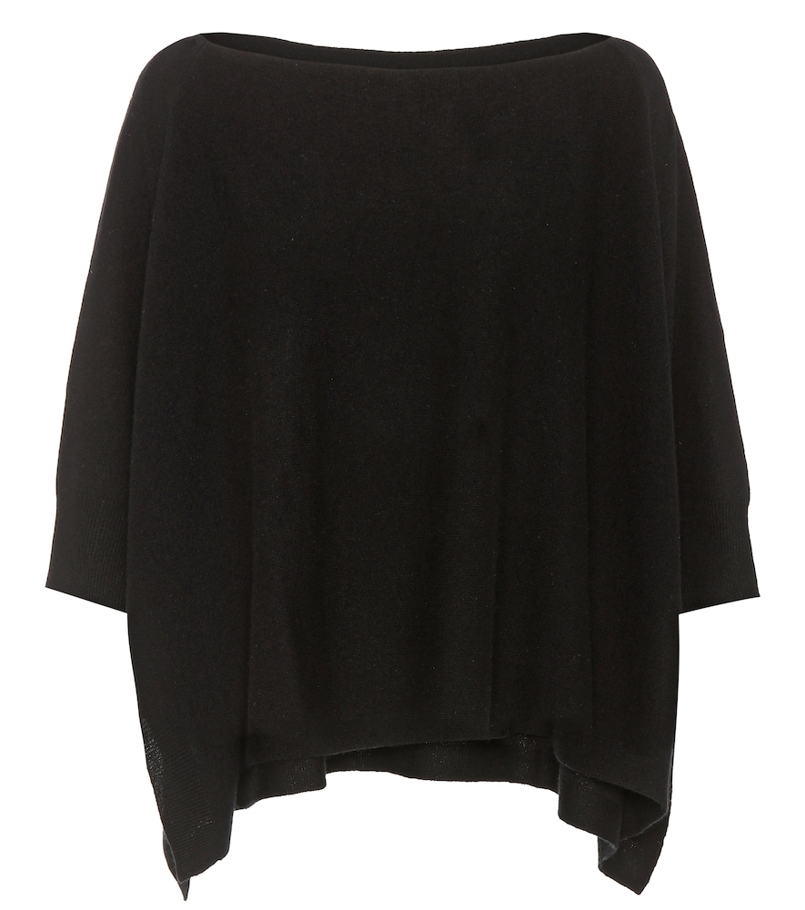JARDIN DES ORANGERS WOOL AND CASHMERE PONCHO