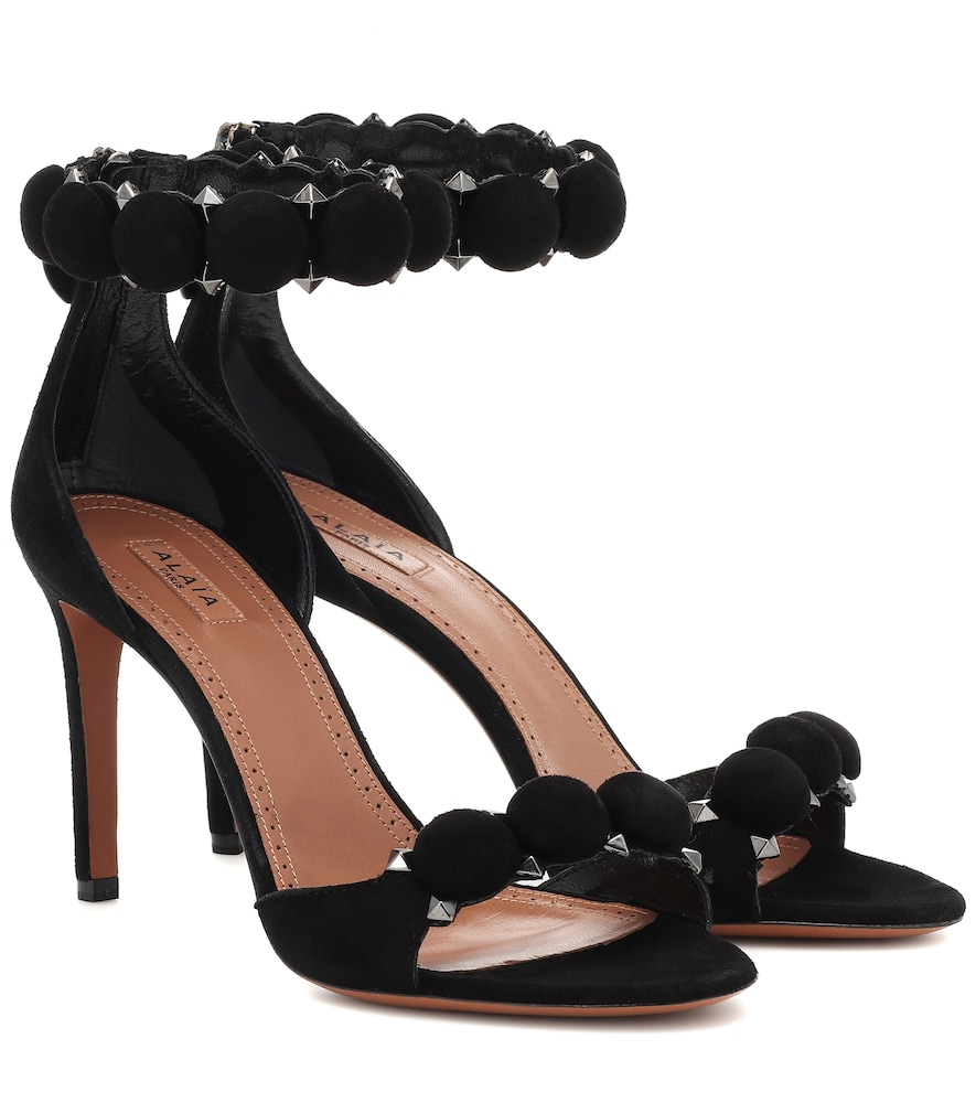Bombe studded suede sandals