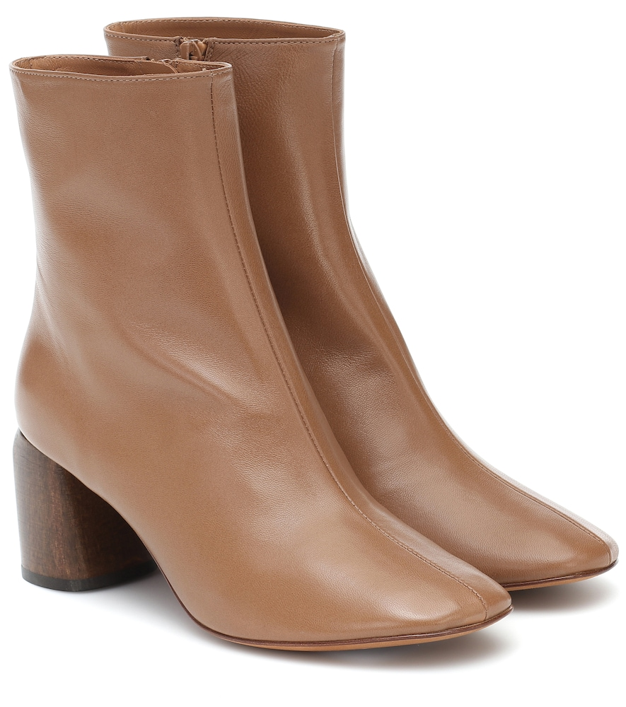 Georgia leather ankle boots