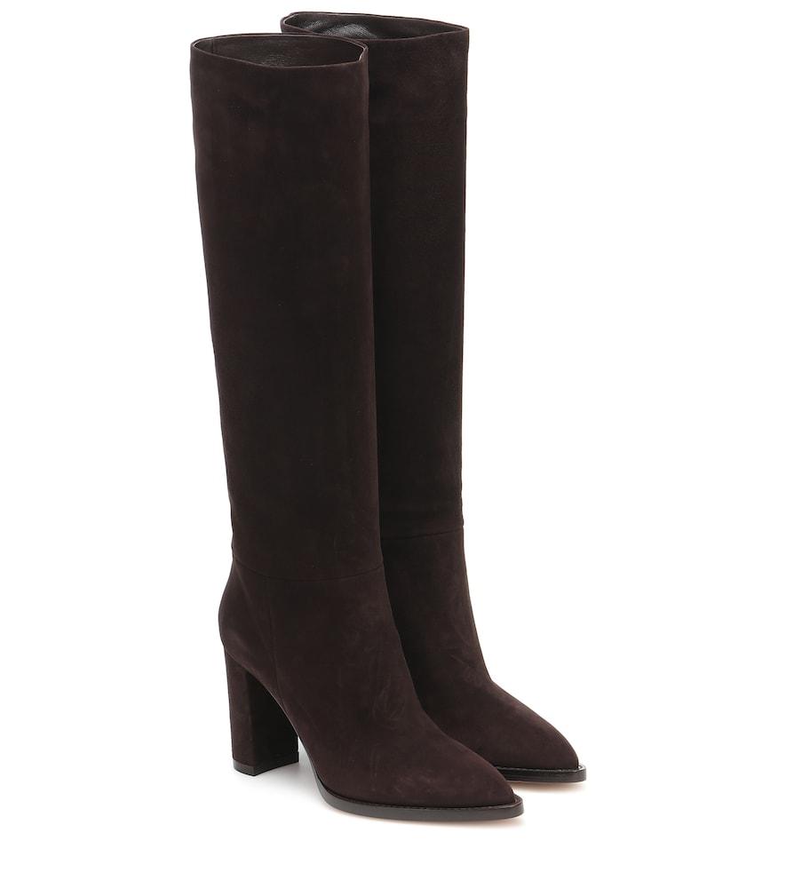 Kerolyn suede knee-high boots