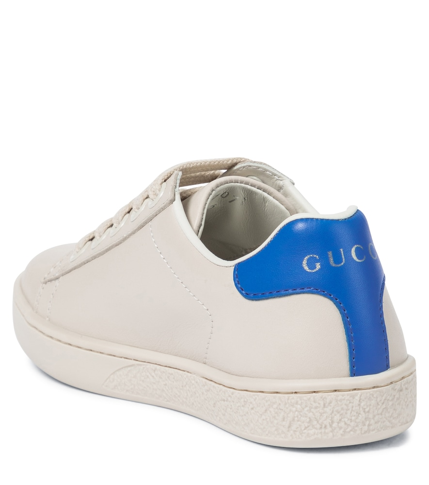 GUCCI Slip-ons ACE LEATHER SNEAKERS