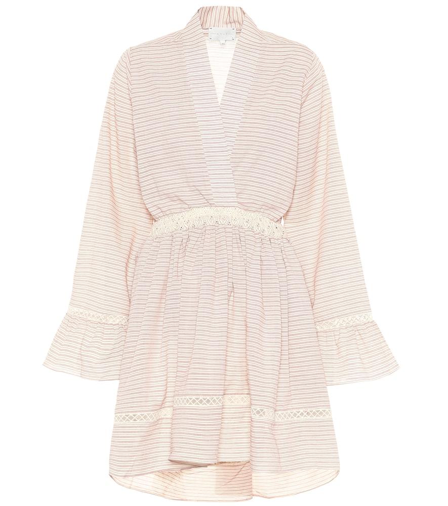 Robe Devon rayée en coton