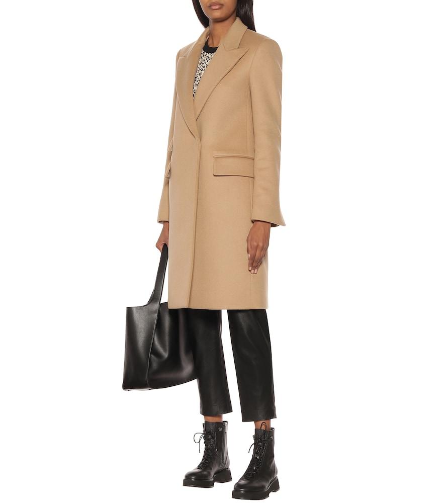 Long wool-blend coat by Stella McCartney